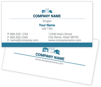 Residential Property Management Business Cards