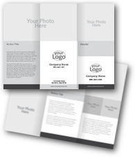 Blank Layout 6 Brochures