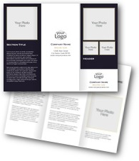 Blank Layout 8 Brochures