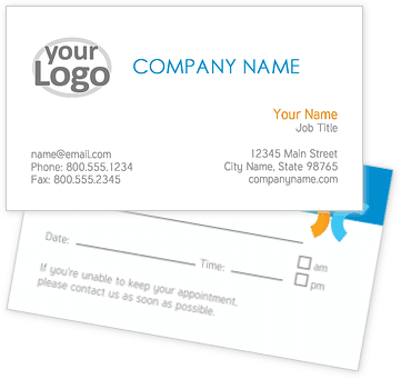 Startup Business Appointment Cards