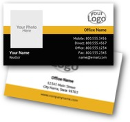 New Land Estates Business Cards
