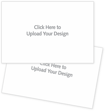 Upload a Complete Design Postcards