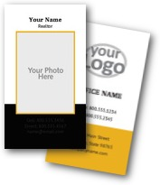 Investment Agent Business Cards
