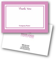 Conference  Thank You Cards