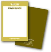 Party Thank You Cards