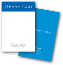 Simple Executive Thank You Cards