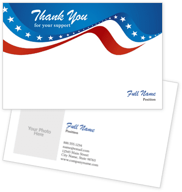 Wave America Thank You Cards