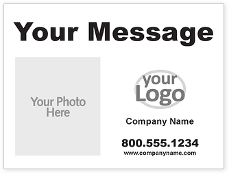 Logo & Image Car Magnets