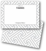 Classic Fret Thank You Cards