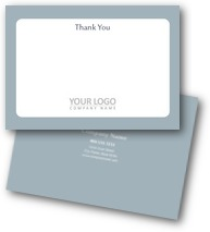 Modern Professional Thank You Cards